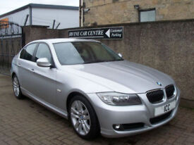 09 59 BMW 325D 3.0 TURBO DIESEL SPORT SE 4DR 6 SPEED ALLOYS CRUISE CLIMATE FSH