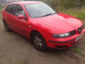 Breaking Seat Leon S 1.4 16v Petrol Manual Red For Spare Parts tm