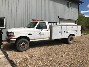 Project service truck