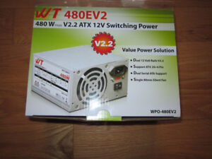 Power supply d'ordi  480w neuf