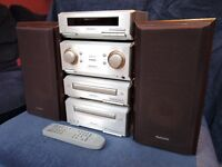 Technics HD350 compact hi-fi system, complete and great condition.