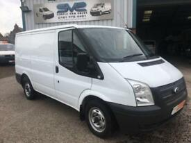 2012 12 FORD TRANSIT SWB 300 100BHP 6 SPEED WITH INTERNAL RACK TO REAR WORK SHOP