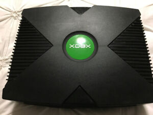 XBOX console with 6 game only $75