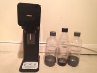 Soda stream. Sparkling water maker
