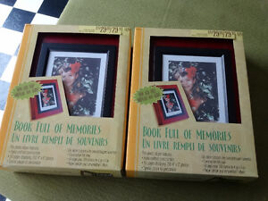 Books full of memories displays 200 4 by 6 inch photos