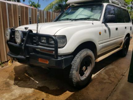 Toyota landcruiser 80 series Nakara Darwin City Preview