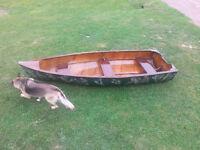 Antique 11 foot boat