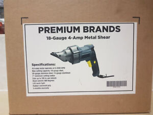 Premium Brands 18-Gauge, 4-Amp Metal Sheer