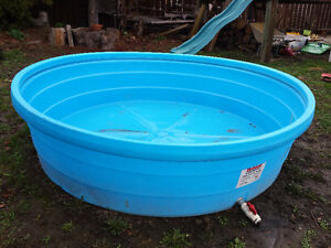 Behlen Poly Stock Tank 8' x 2' - Pool/Fish/Livestock/Trough