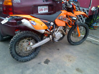 KTM 525EXC Street Legal dirt bike