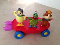 Wonderpets Flyboat with 3 figures