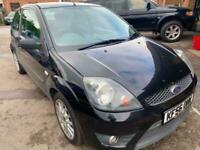 2007 Ford Fiesta 2007 1.6 Zetec S 3dr BLACK HATCHBACK Petrol Manual