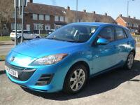 2009 Mazda Mazda3 1.6 TS2 5DR 09 REG Petrol Blue