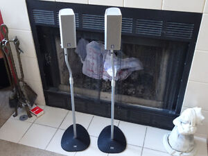 Yamaha speakers and stands