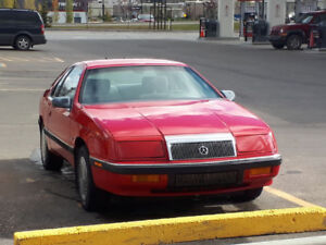 1991 Chrysler Lebaron Coupe (2 door) 2nd owner