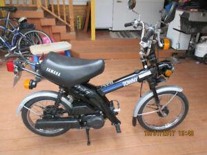 Scooter, Mobylette, Moped antique, vintage Yamaha Towny MJ 50