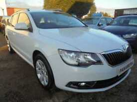 2014 14 SKODA SUPERB 2.0 S TDI CR DSG 5DR AUTO 140 BHP FINANCE WITH NO DEPOSIT A