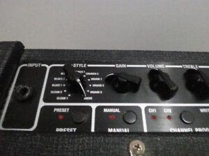 Vox DA15 pleins d'effets intégrés + sauvegarde des favoris + etc