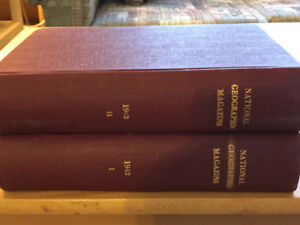 National Geographic 1921 to 1947 - Volumes 1 & 2