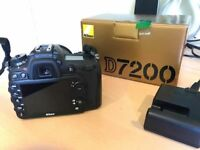 Nikon D7200 - in excellent condition