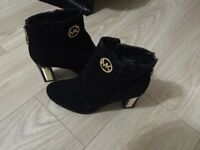 Michael Kors Black Ankle Boots UK Size 7
