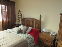 URGENT : Set de chambre en bois a vendre