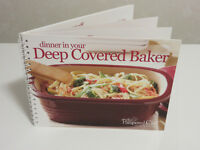 Pampered Chef - Dinner in Your Deep Covered Baker Cookbook