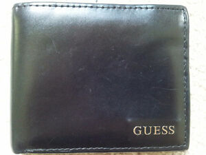 Authentic Guess Men's Black Wallet - Leather London Ontario image 1