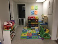 Daycare Space Available