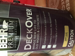 BEHR PREMIUM wood coating