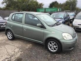 TOYOTA YARIS 2004 1.3 VVTI T-SPIRIT PETROL - MANUAL - 1 PREVIOUS OWNER