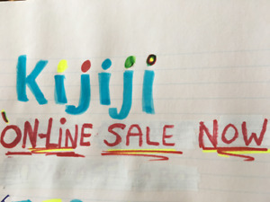 ON LINE SALE* NOW* REDUCED PRICE DROP*