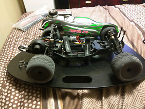 1/10 2wd brushless Twister xb buggy with wheelie bar