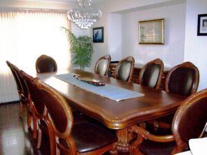 cc99f0218122 DINING ROOM SET- Table
