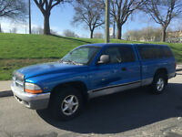 1999 DODGE DAKOTA ,AUTOMATIQUE   , AIR CLIMATISE , 4 PASSAGERS
