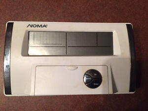Programmable NOMA Thermostat.