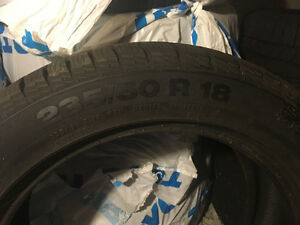 Brand New Continental Winter Tires 235/50/R18