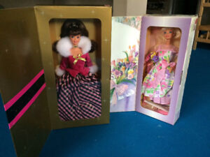 Collectables Barbie dolls