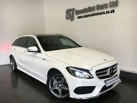 2014 [64] Mercedes-Benz C250 BlueTech AMG Line *Premium Plus* 27K full merc hist