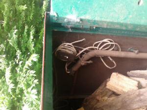 Conteneur en acier pour entreposage