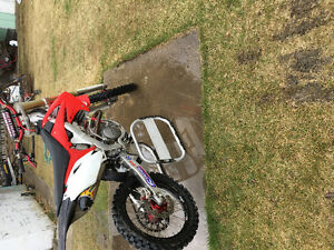 "2012 crf250r. Full race built motor ""7.5 hrs"""