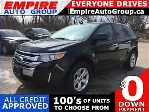 2011 FORD EDGE SEL * LEATHER * PANORAMIC SUNROOF * REAR PARKING