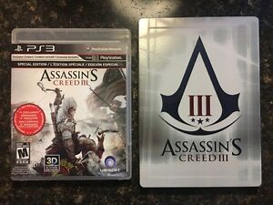 Assassin's Creed 3 - PS3 (Special Edition)
