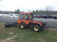 1994 Holder C5000 4WD 4cyl turbo Diesel with plow