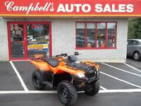 SOLD!!! 2014 HONDA FOUTRAX 420 WITH POWER STEERING