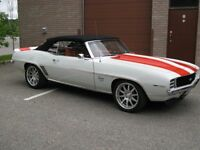 1969 Camaro RS/SS Convertible, Original Documented Z11 Pace Car