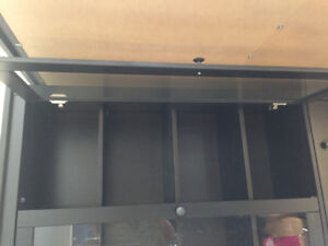 Awesome Glass front cabinet