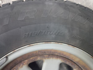 Triangle  Snow Lion Winter Tires 215/75R15