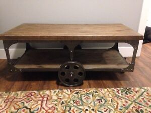 SOLD - Cart Style Coffee Table  St. John's Newfoundland image 2