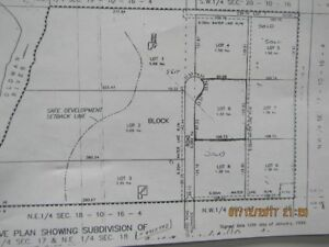 3.41 Acres For Sale Taber Ab. T1G 1J7